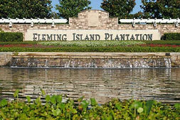 Fleming Island Plantation Sign