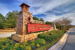 World Golf Village Sign