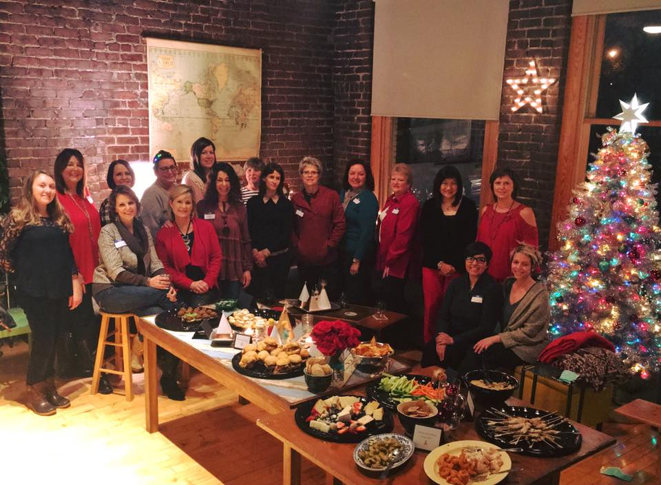 breast connect holiday party 01