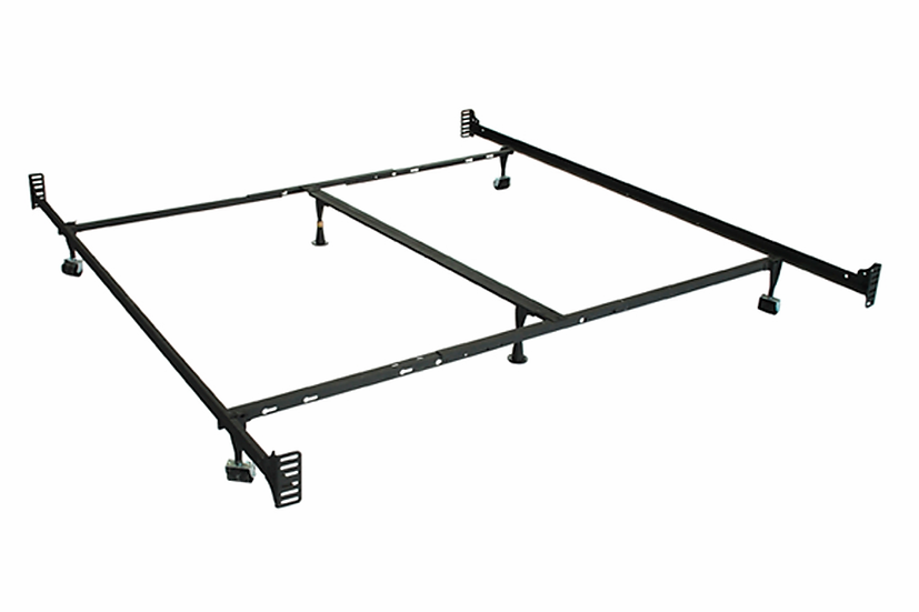 Double End Metal Bed Frame - Queen/King