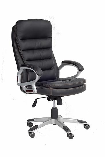 PU Leather Chair - Black