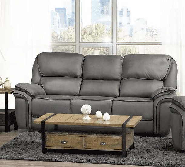 Recliner Sofa ~ Smoke