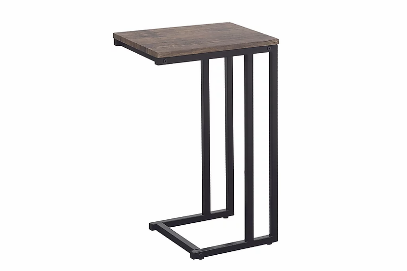 Side Table Wooden & Metal