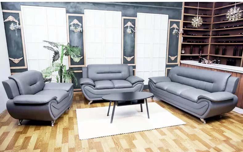 3 Piece Sofa Set ~ Grey