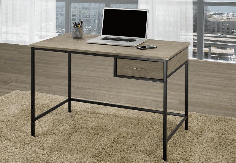 Wooden Desk ~ Distressed Grey Finish
