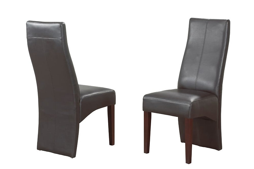Bonded Leather Chair - Espresso
