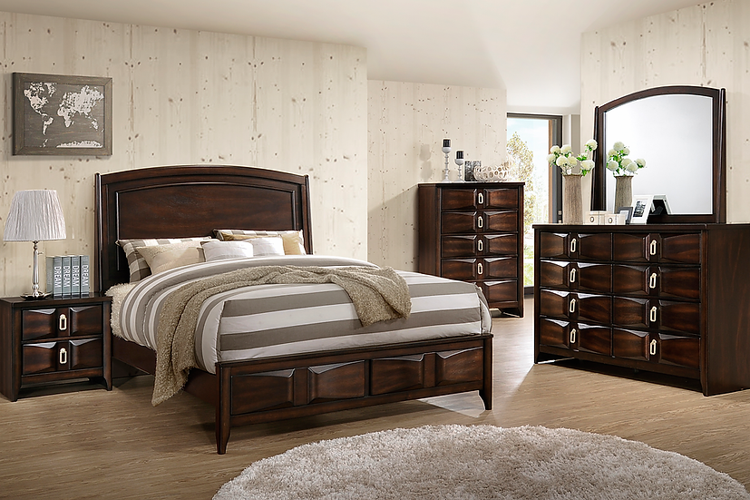 Roxy Bedroom Set Brown
