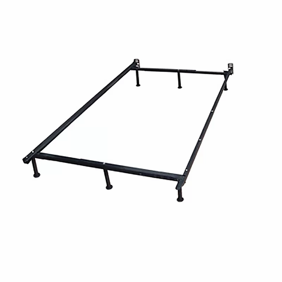 Glides Metal Bed FMetal Bed Frame - Single/Double/Queen