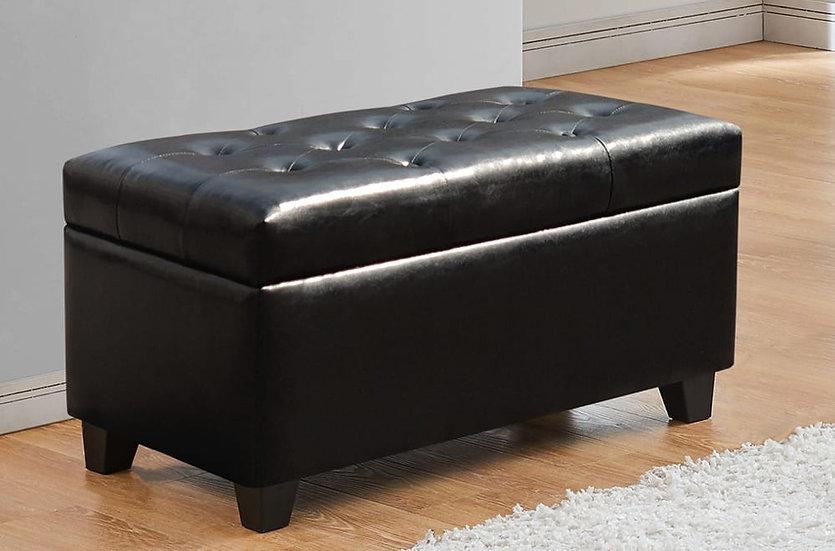 Storage Ottoman ~ Black