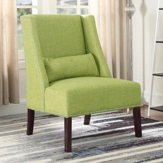Fabric Accent Chair ~ Green