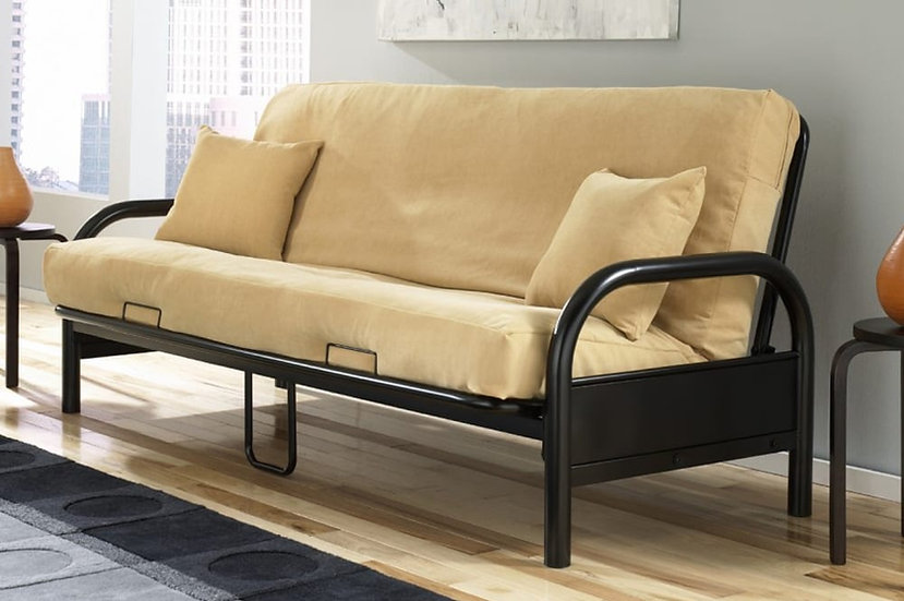 Metal Futon Frame ~ Black