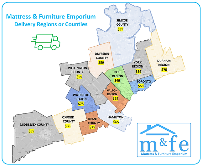 mattress delivery near me and furniture delivery service near me locations