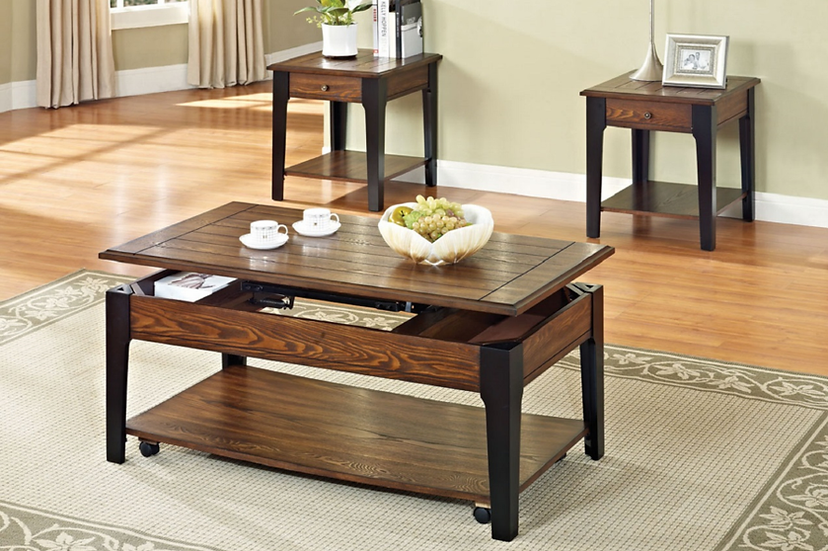Wooden Lift Top Coffee Table