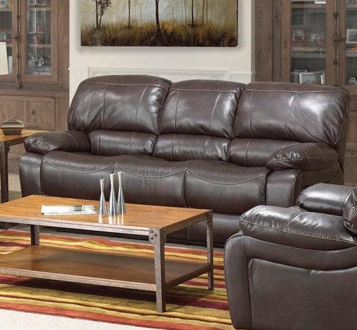 Power Recliner Sofa ~ Chocolate