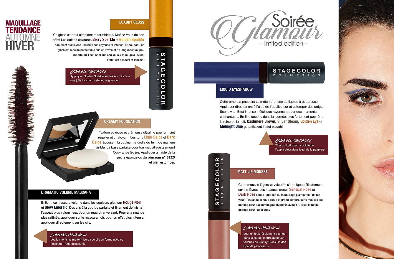 Collection Soirée Glamour de Stagecolor Cosmetics