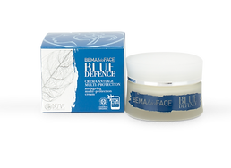BLUE DEFENCE Crème anti age multi protection