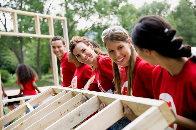 Volunteers-Construction