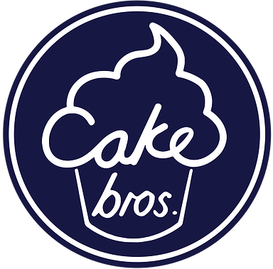 Cake Bros. logo white blue circle.png