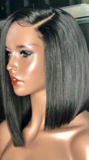 Deep Part Bob TRANSPARENT LACE
