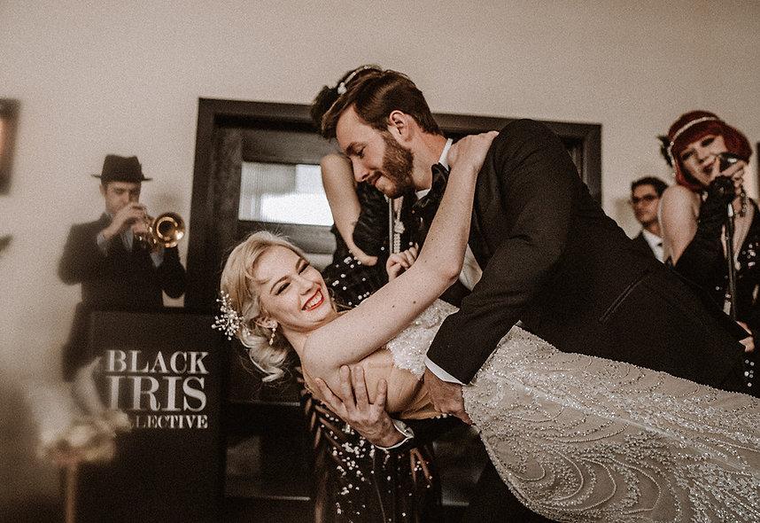 BLACK IRIS COLLECTIVE, Gatsby Wedding, D