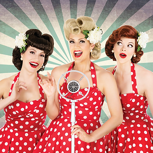 Andrews Sisters, USO, Band, Swing Band,
