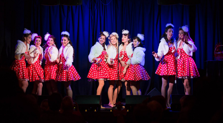 Music, Christmas Party, Beverly Belles, Los Angeles, California, Holiday, Holiday Party, Party, Christmas