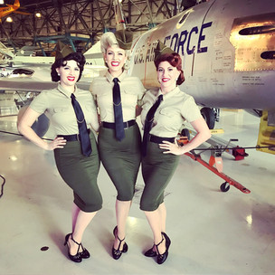 Andrews Sisters Show_The Beverly Belles_Wings Over the Rockies Museum_Singers_USO_Military