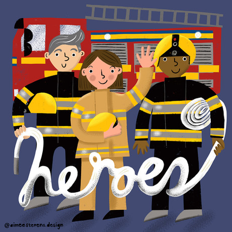40 Days, 40 Heroes: Firefighters