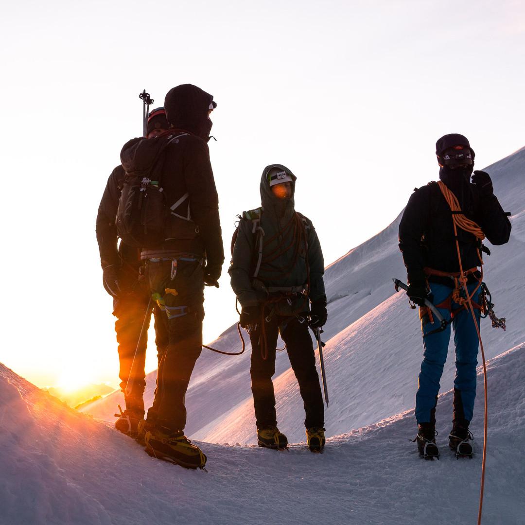 Sunrise at 4500m