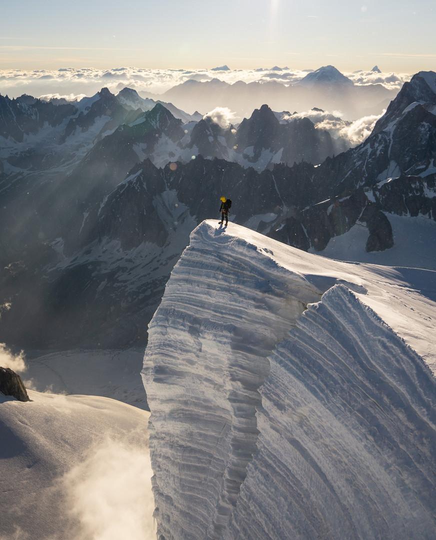 Adrien on the edge