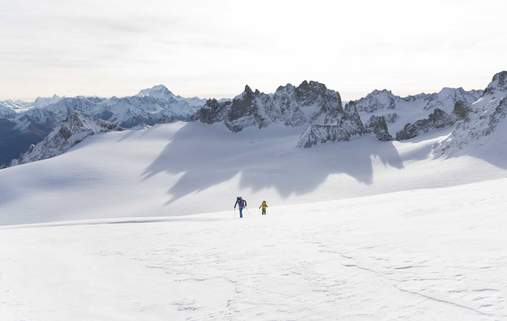 Exploring Glacier du Trient