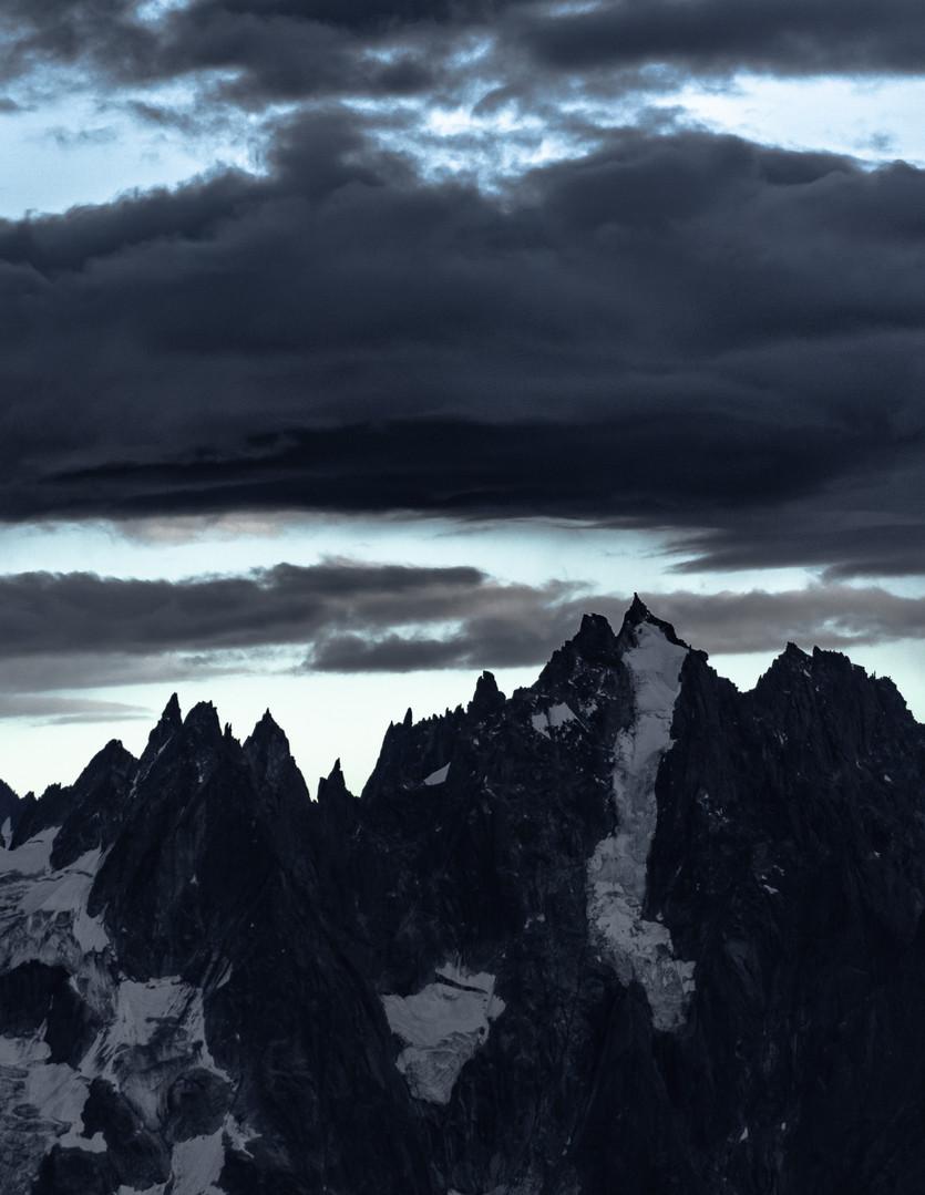 The Great Wall of Chamonix