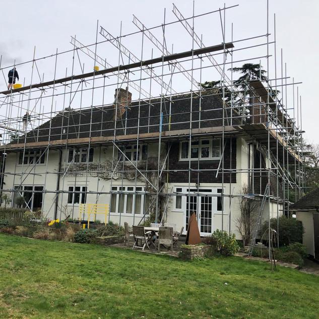 Oxshott Loft and House Extension