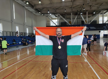 Shillong man wins NE's first gold in  Asian kettlebell championship