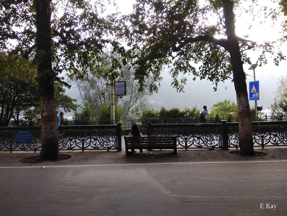 Mall Road Nainital
