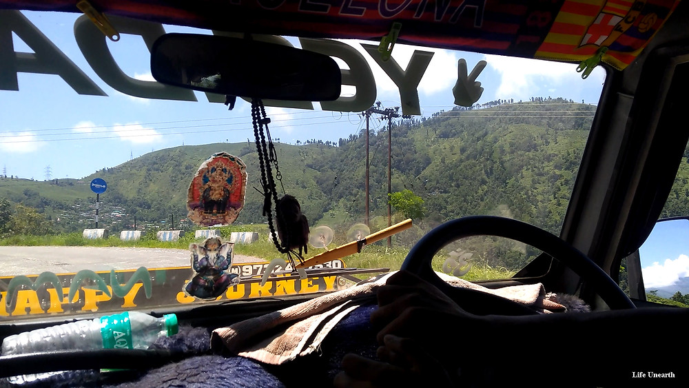 Local cab in Mirik