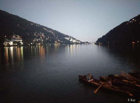 Nainital a former British hill station