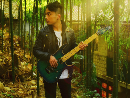 Local boy rocks as solo guitarist