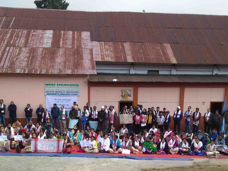 CAA protest in Shillong
