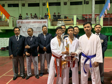 Meghalaya Karate Championship 2019 concludes