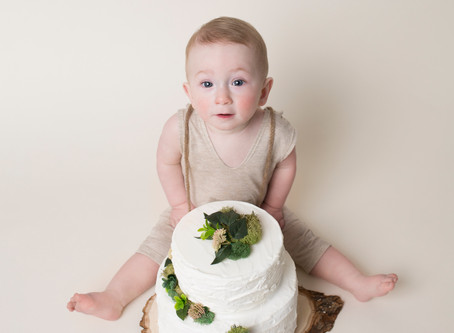 Clayton | First Birthday