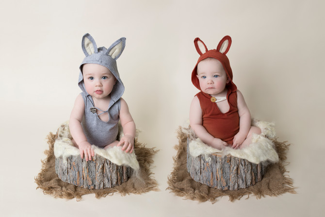 Leo & Sterling | 9 Month Twins