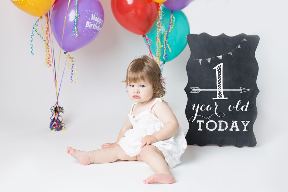 Anna is ONE!