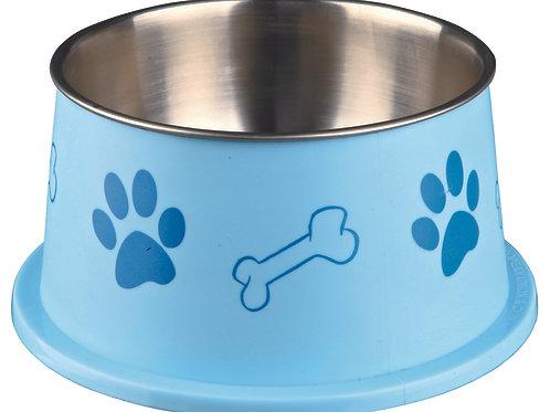 Ecuelle pour chiens à longues oreilles, acier inox