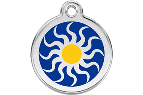 "Médaille ""tribal Sun"" Red Dingo"