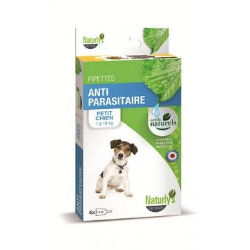 NATURLY'S Pipettes Petit Chien
