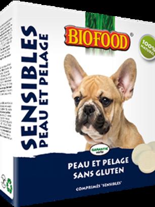 Friandises pour chiens sensibles- peau et pelage