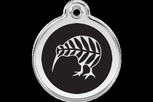 """Médaille """"kiwi"""" Red Dingo / 11 couleurs possibles"""