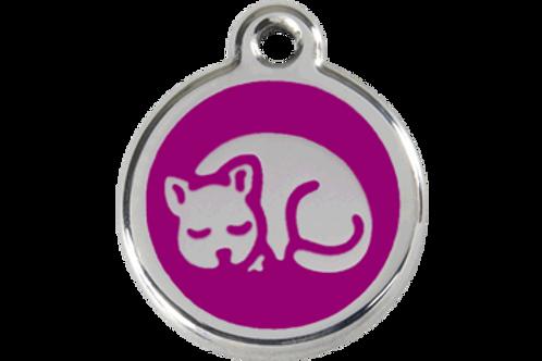 Médaille Chat pour chat Red Dingo / 11 couleurs possibles