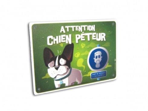 Panneau Attention Chien Péteur